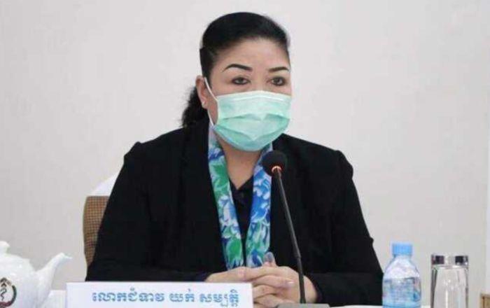 柬埔寨内政部又有两高官夫人被确诊