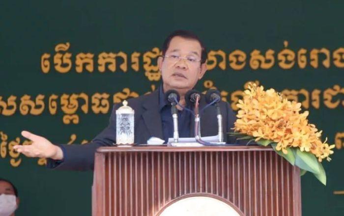 洪森:不对缅甸局势发表评论