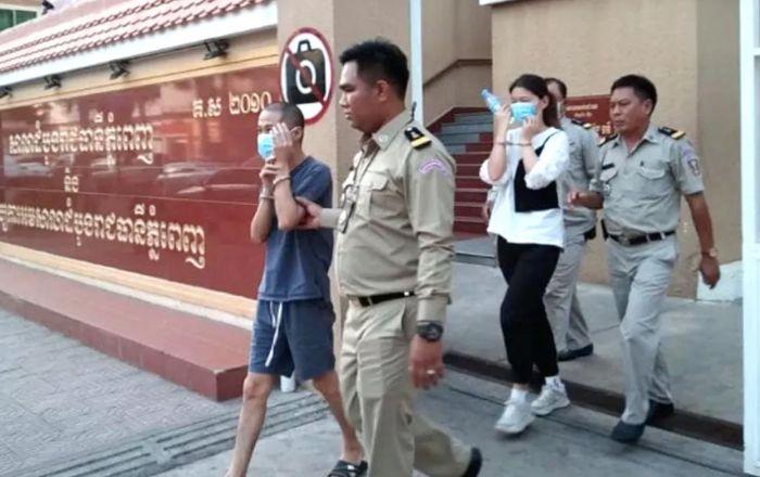 金边两中国人被控走私贩运毒品