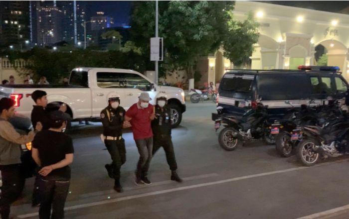 午夜打枪,金边6中国人被捕!