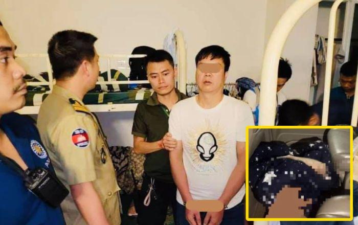 西港一中国男子杀人后自首